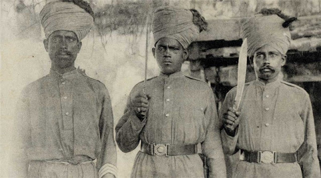 indian troops in first world war france